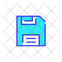Classic Disket Save Disket Icon