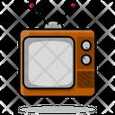 Classic Television Multimedia Icon