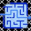 Challenge Maze Puzzle Icon