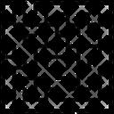 Classical Maze Maze Labyrinth Icon