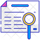 Classified Paper List Icon