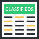 Classifieds Icon