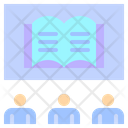 Book Study Education Icon