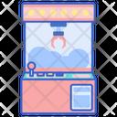 Claw Arcade Balls Claw Electric Machine Icon