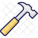 Claw Hammer Hammer Hand Tool Icon