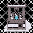 Claw Machine Gaming Machine Claw Icon