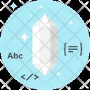 Clean Code Diamond Icon