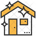 Clean Home Wash Icon