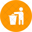 Clean Throwing Litter Icon