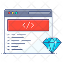 Clean Code Web Programming Coding Style Icon