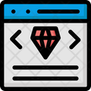 Clean Code Programming Coding Style Html Concept Icon
