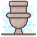 Clean Commode Flush Flushing Icon
