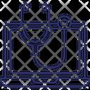 Clean Computer Virus Icon