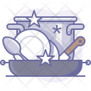 Clean Cookware Dishes Icon