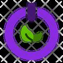 Clean Energy Green Energy Ecological Energy Icon
