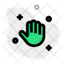 Clean Hand Hand Washing Cleaning Icon