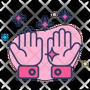 Hand Wash Gesture Icon