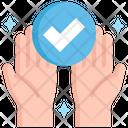 Clean Hand Clean Palm Icon