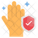 Clean Hand Antivirus Protection Icon