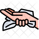 Clean Hands With Towel Dry Hands Hands Drying Icon