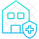 Clean Home Secure Home Safe House Icon