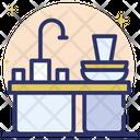 Clean Kitchen Clean Cutlery Clean Sink Icon