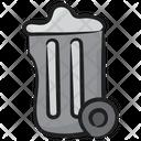 Clean Trash Bin Icon