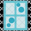 Hygiene Clean Window Interior Icon