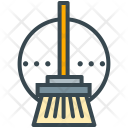 Cleaner Broom Clean Icon