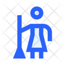 Cleaner Cleaning Woman Icon