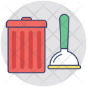 Janitor Services Mop Icon