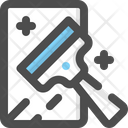 Cleaning Mirror Cleanup Icon