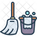 Cleaning Wash Sweeping Icon