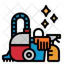 Cleaning Wash Bucket Icon