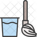 Clean Floor Mopping Icon
