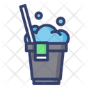 Cleaning Bucket Basket Icon