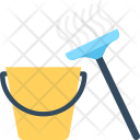 Cleaning Mop Janitor Icon
