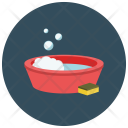 Cleaning Soap Sponge Icon