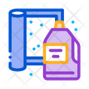 Cleaning Agent Carpet Icon