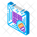 Air Cleaning Climate Icon