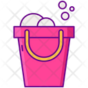 Cleaning Bucket Bucket Foam Icon