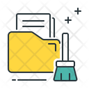 Cleaning data Icon