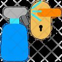 Cleaning Door Handle Icon