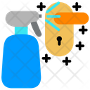 Cleaning Coronavirus Covid Icon