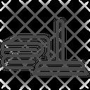 Wiper Rag Tool Icon