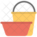 Water Bucket Tub Icon