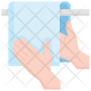 Hand Towel Hygiene Icon