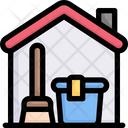 Cleaning Home Cleaning Service Stay At Home Icon
