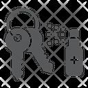 Disinfection Key Keys Icon