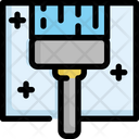 Mirror Clean Cleaning Icon